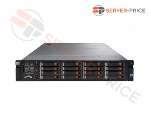 HP ProLiant DL380 G7 16xSFF / 2 x L5630 / 2 x 4GB / P410i + P410 / 460W